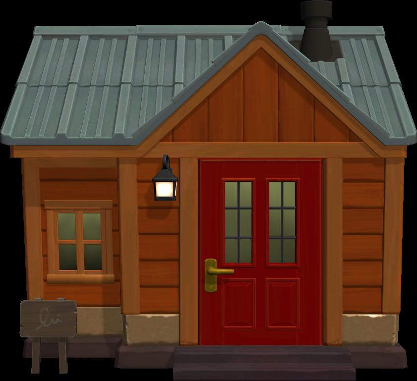 Exterior of Katt's house in Animal Crossing: New Horizons