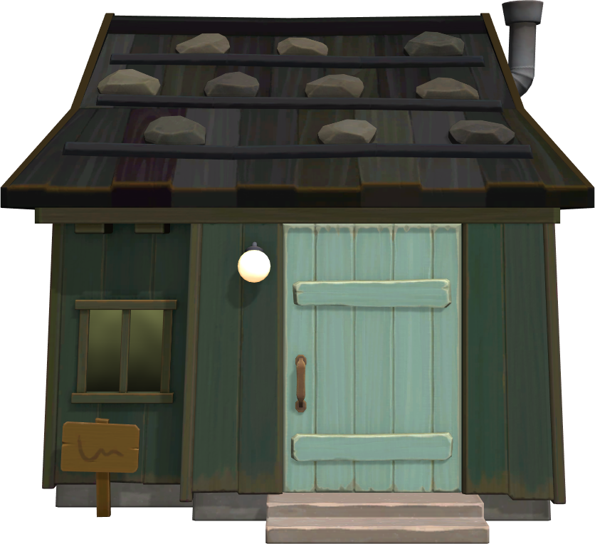 Exterior of Rizzo's house in Animal Crossing: New Horizons
