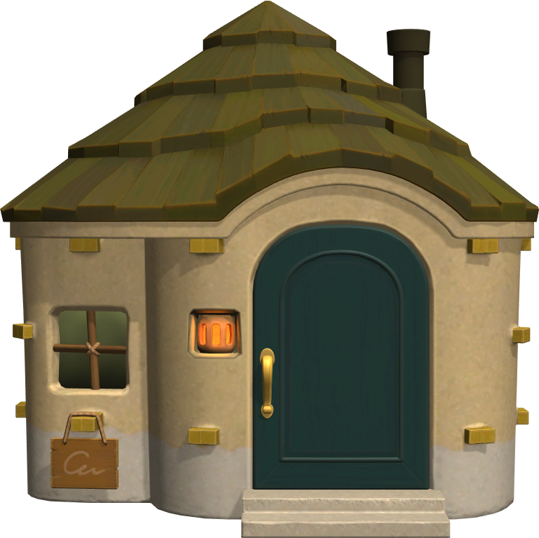 Exterior of Deli's house in Animal Crossing: New Horizons