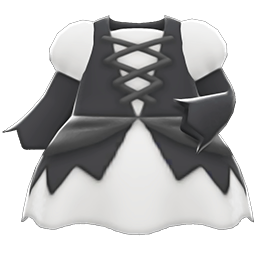 Mage's Dress (White) NH Icon.png