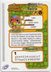 Animal Crossing-e 4-229 (Twirp - Back).jpg
