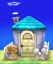 Tutu's house exterior