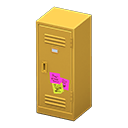Upright Locker (Yellow - Notes) NH Icon.png