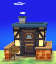 Olaf's house exterior
