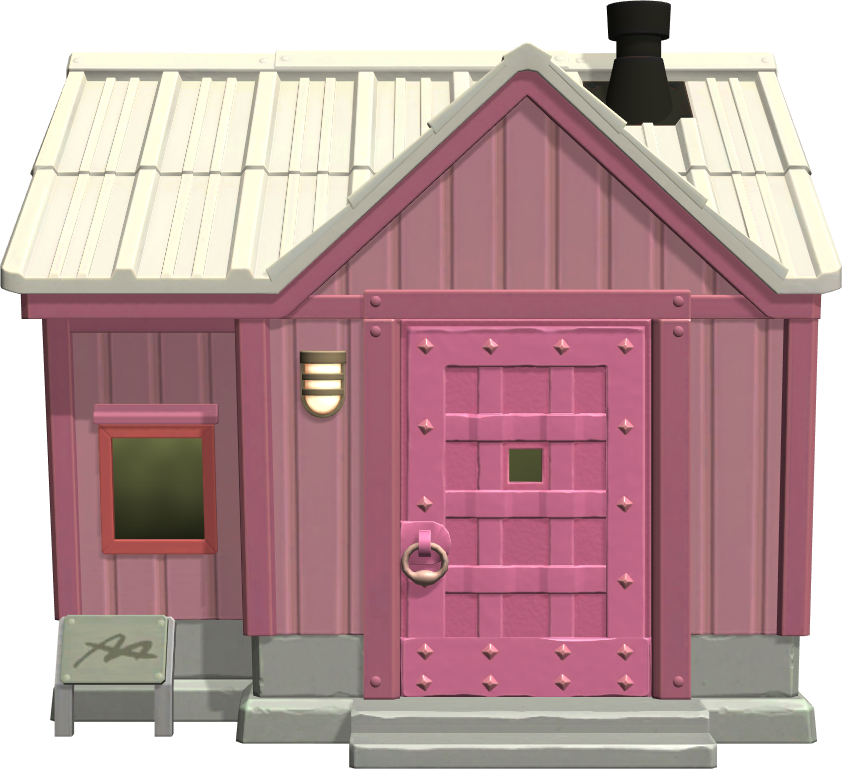 Exterior of Rocket's house in Animal Crossing: New Horizons