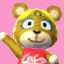 Paula's picture in Animal Crossing: New Leaf