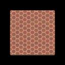 Brown Honeycomb Tile