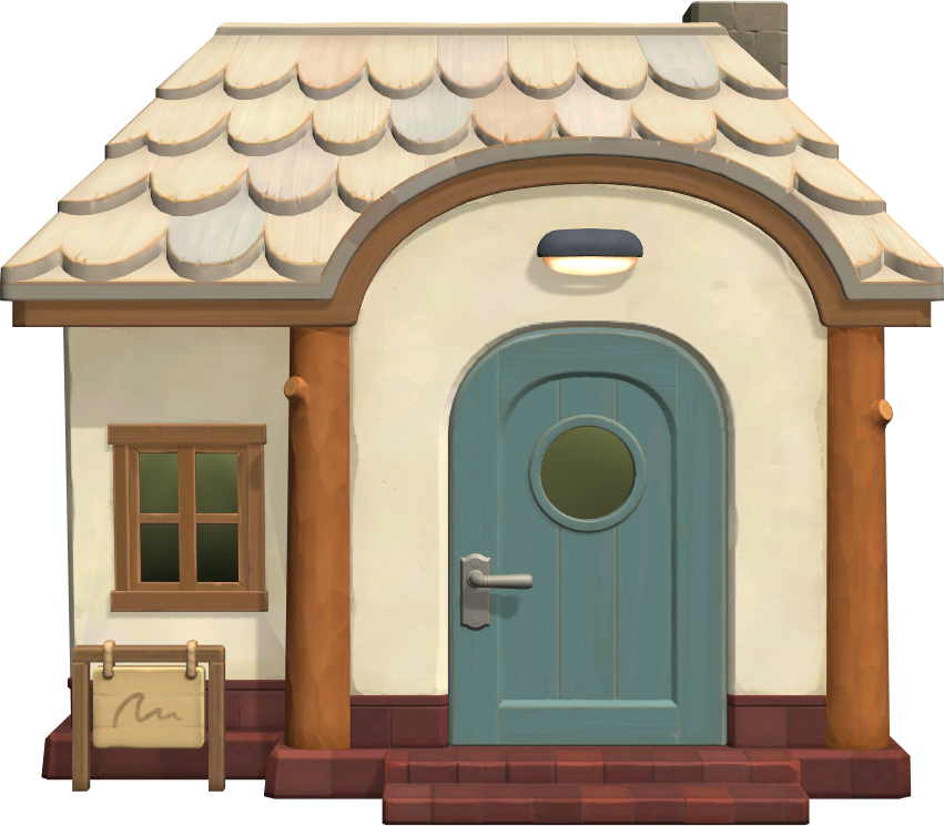 Exterior of Skye's house in Animal Crossing: New Horizons