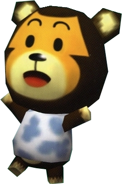 Poko, an Animal Crossing villager.