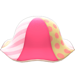 Patchwork Tulip Hat New Horizons Animal Crossing Wiki Nookipedia