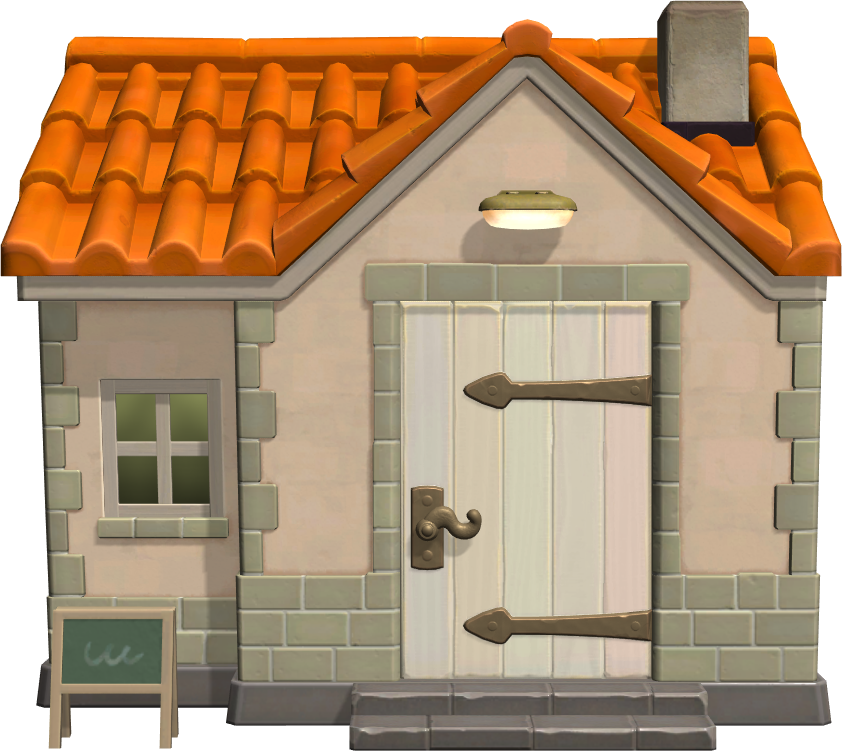 Exterior of Vivian's house in Animal Crossing: New Horizons
