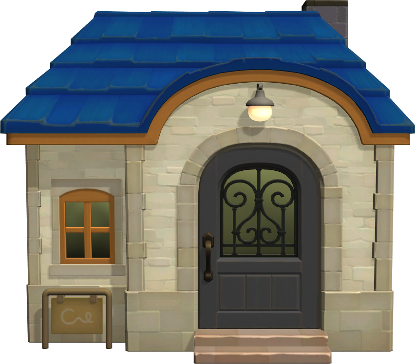 Exterior of T-Bone's house in Animal Crossing: New Horizons