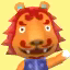 Rory's picture in Animal Crossing: New Leaf