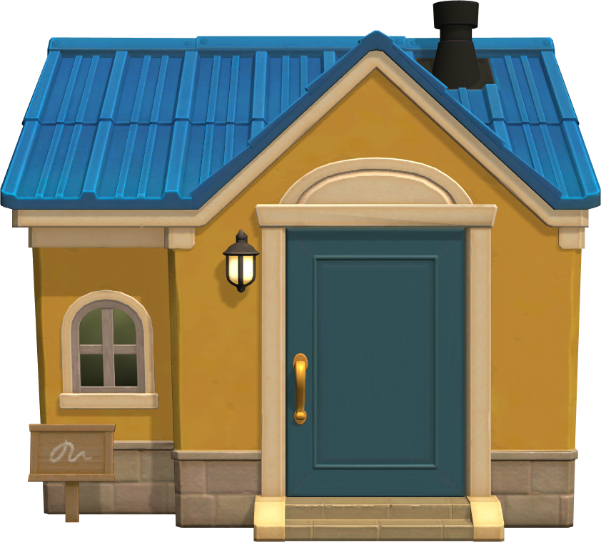 Exterior of Keaton's house in Animal Crossing: New Horizons