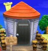 Lucha's house exterior