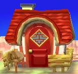 Exterior of Phoebe's house in Animal Crossing: New Leaf