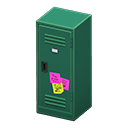 Upright Locker (Green - Notes) NH Icon.png