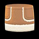 Faux-Shearling Skirt