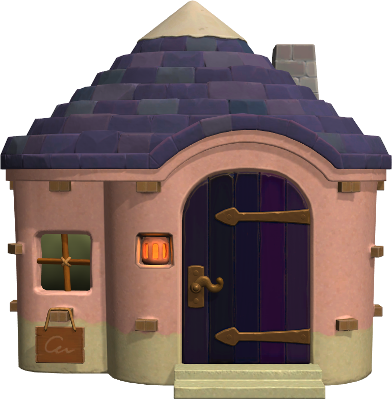 Exterior of Violet's house in Animal Crossing: New Horizons