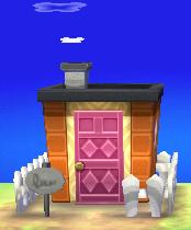 Agnes's house exterior