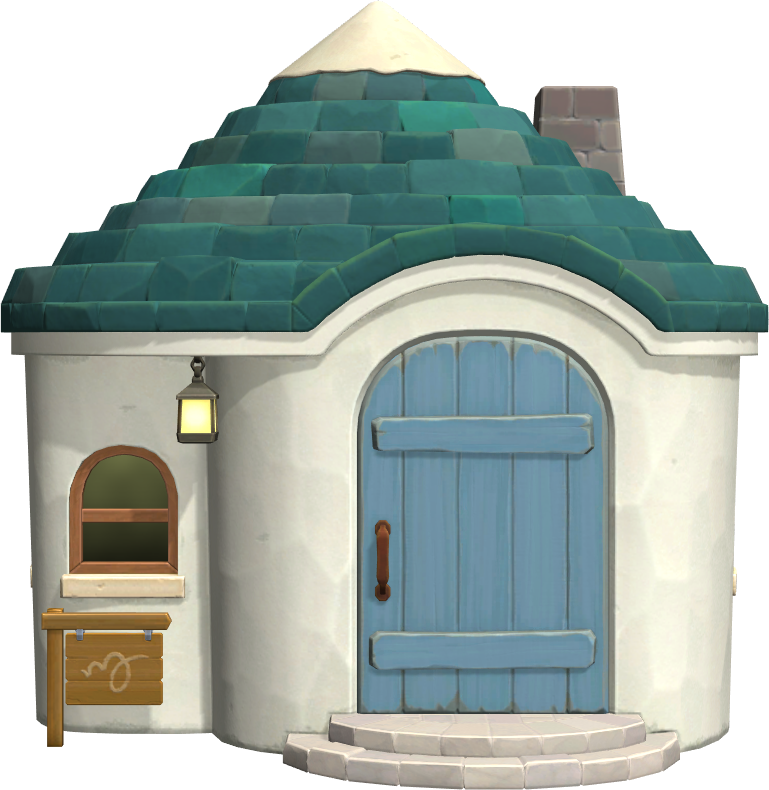 Exterior of Julian's house in Animal Crossing: New Horizons
