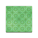 Green Retro Flooring