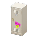 Upright Locker (White - Notes) NH Icon.png