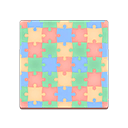 Colorful Puzzle Flooring
