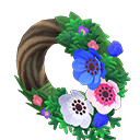 Cool Windflower Wreath