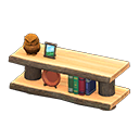 Log Decorative Shelves