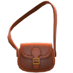 Pleather Shoulder Bag
