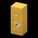 Upright Locker (Yellow - Pop) NH Icon.png