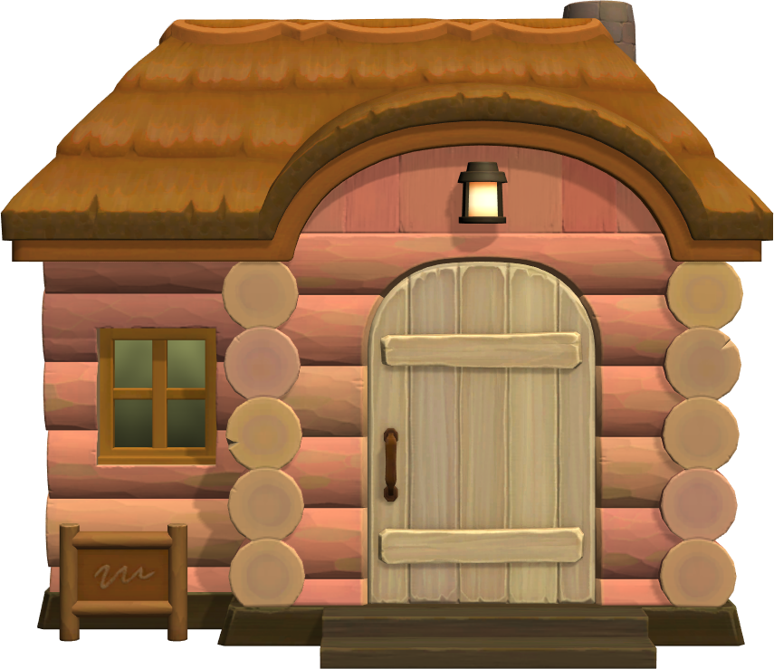 Exterior of Peaches's house in Animal Crossing: New Horizons