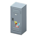 Upright Locker (Silver - Pop) NH Icon.png