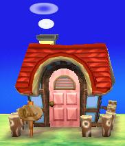 Hazel's house exterior