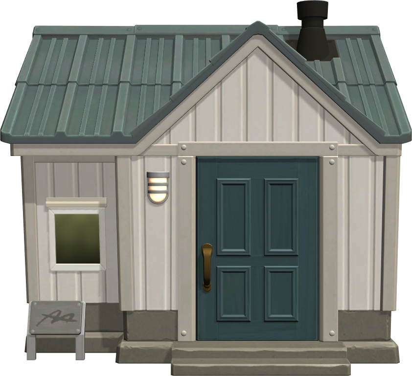 Exterior of Peewee's house in Animal Crossing: New Horizons