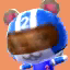 Agent S's picture in Animal Crossing: New Leaf