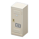 Upright Locker (White - Cool) NH Icon.png