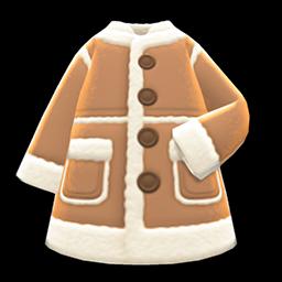 Faux Shearling Coat New Horizons Animal Crossing Wiki Nookipedia