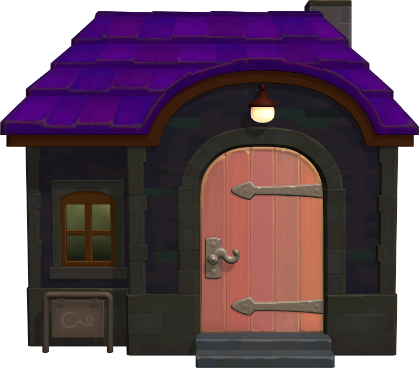 Exterior of Muffy's house in Animal Crossing: New Horizons