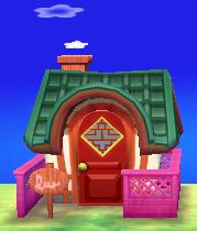 Pekoe's house exterior