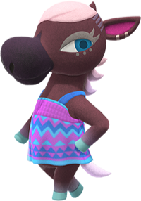 Reneigh, an Animal Crossing villager.