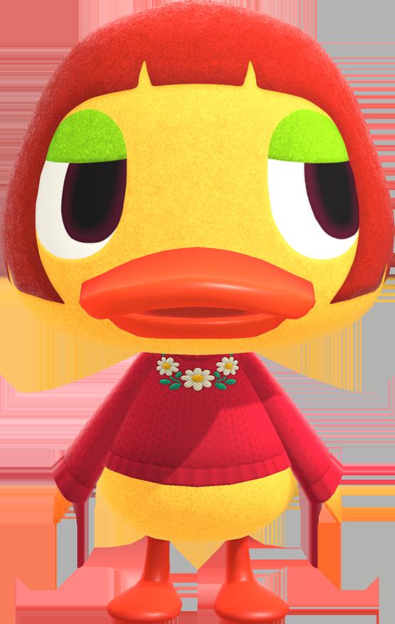 Artwork of Maelle the Duck
