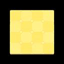 Cute Yellow-Tile Flooring