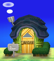 Exterior of Boots's house in Animal Crossing: New Leaf