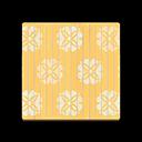 Yellow Floral Flooring