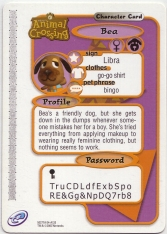 Animal Crossing-e 3-133 (Bea - Back).jpg