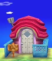 Violet's house exterior