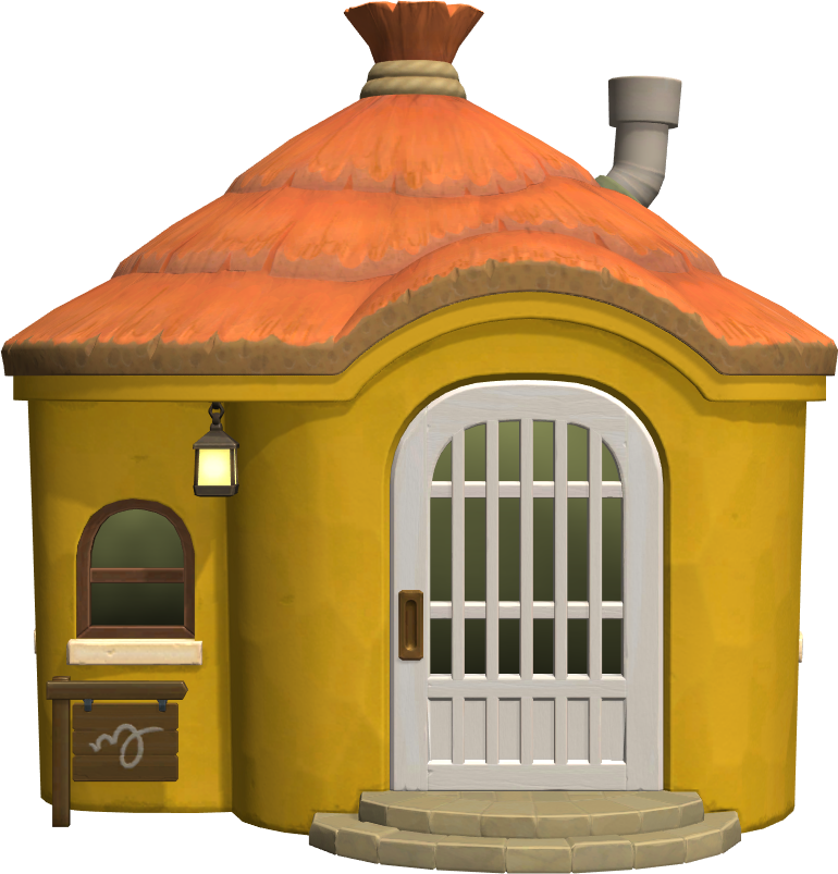 Exterior of Anabelle's house in Animal Crossing: New Horizons