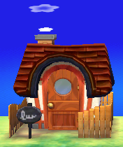 Exterior of Medli's house in Animal Crossing: New Leaf